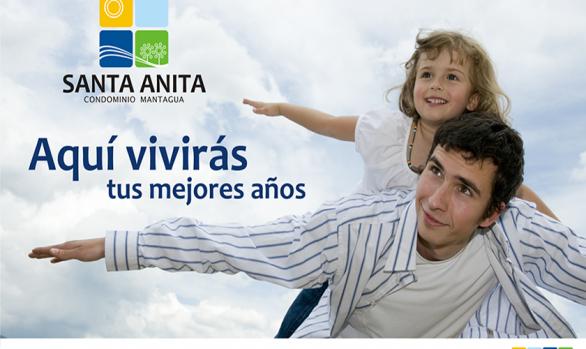 CONDOMINIO <br>SANTA ANITA<br>DE MANTAGUA